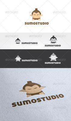 Buy Sumo Studio Logo Template by ikaznarsis on GraphicRiver. Sumo Studio Logo Template is An excellent logo template highly suitable for logo company, creative agency, Studio, Bl. Cartoon Logo, Cartoon Pics, Graphic Design Templates, Logo Templates, Sumo, Logo Sketches, Japan Logo, Abstract Logo, Japan Design