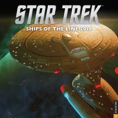 "Star Trek: Ships of the Line (2016) is the 2016 edition of the Star Trek: Ships of the Line calendar series. Months Cover (""Enterprise-D"") – The Galaxy-class USS Enterprise-D in a planetary system launching shuttlecraft from its main shuttlebay, by Gary O'Brien., January (""Enterprise"") – The Constitution-class USS Enterprise and an Ambassador-class starship in close proximity to a star, by Brian McMahon., February (""U.S.S. Enterprise and U.S.S. Endeavour"") – The refit USS Enterprise…"