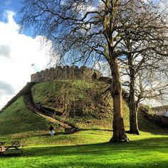 Totnes Castle in Totnes, Devon