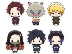 Megahouse: Demon Slayer: Kimetsu no Yaiba - Chokorin Mascot Box of 6 Figures