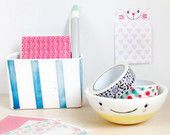 Cute funny office decor, Office desk accessories, Office organization, Candle holder, Ceramics & pottery, Tea light candle holder,Desk decor