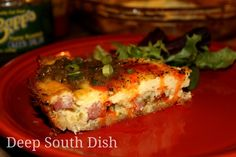 Deep South Dish: Hash Brown Quiche with Andouille Sausage