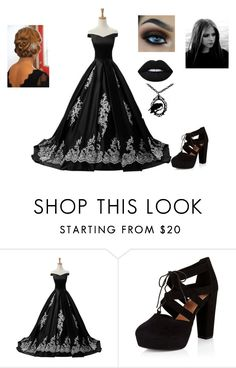"""""""Untitled #165"""" by deanamorris on Polyvore featuring Reception, New Look and Lime Crime"""
