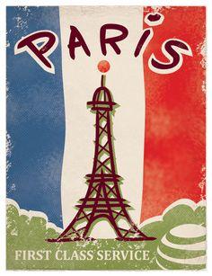 Paris poster - Kopisaslamabad