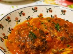 トマト缶で☆煮込みハンバーグの画像