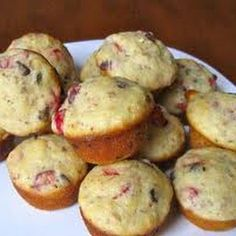 Muffins: Cranberry, Oatmeal W. W. Points Plus 3 no toping