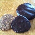 Roh/Vegane Lebkuchen auf Basis von Erdmandeln