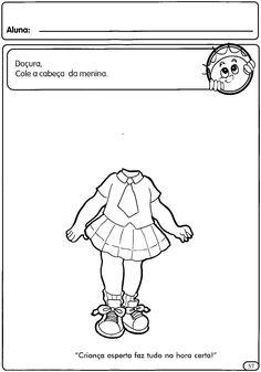 Atividades sobre o corpo para Educação Infantil        Faça Cursos Online aqui.   Visite a LOJA DO ESPAÇO EDUCAR aqui.   Curso de Alfabeti...