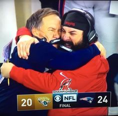 What a great moment for these amazing coaches. Football Draft Party, Best Football Team, Football Memes, Sports Memes, Football Coaches, Funny Sports, New England Patriots Merchandise, New England Patriots Football, Patriots Fans