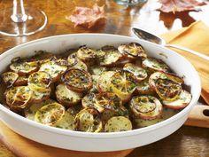 Zitronen-Kartoffel-Gratin |  Kalorien: 308 Kcal - Zeit: 20 Min. | http://eatsmarter.de/rezepte/zitronen-kartoffel-gratin