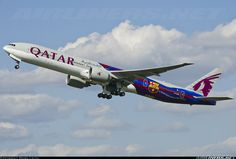 Qatar Airways A7-BAE Boeing 777-3DZ/ER aircraft picture
