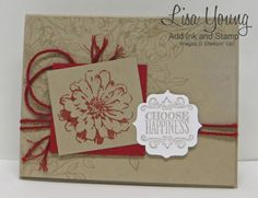 Choose Happiness Stampin' Up!