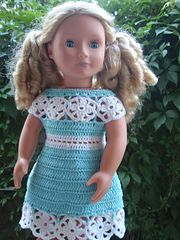 """Pattern for medium to full body 18"""" doll such as American Girl doll or similar."""