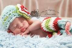 Spring Blossom Hat Headband & Leggies Set by ALilLoopy on Etsy, $40.00