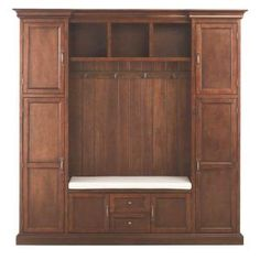 Home Decorators Collection Royce Smoky Brown Hall Tree 7474200820 at The Home Depot - Mobile