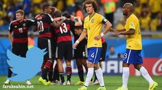 almanya brezilya 7-1 twitter #germany #brasil #twitter