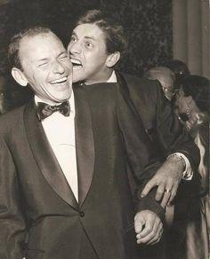 Frank Sinatra & Jerry Lewis.