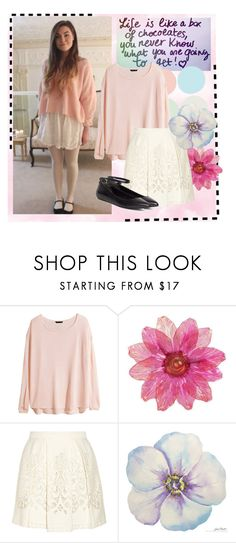 """""""Marzia Bisognin Style❤️"""" by hayleyyay ❤ liked on Polyvore featuring H&M, Sea, New York, Brooks Brothers, youtube, Youtuber and cutiepiemarzia"""