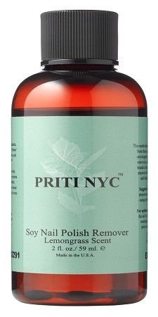 Soy Nail Polish Remover w/ Lemongrass Scent 2 oz.-gets it off, FAST!