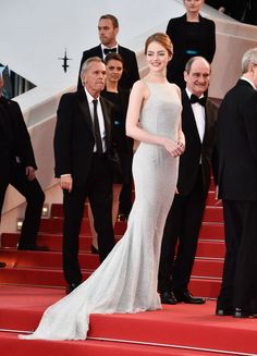 The train on Emma Stone's gown = flawless.