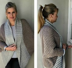 How to Crochet a Cocoon Sweater Cardigan