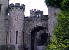 Banwell south west of england - a folly castle built in Victorian times, serves high tea!