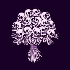 Bouquet of Skulls Skeleton Art, Skull Wallpaper, Foto Art, Arte Pop, Skull And Bones, Skull Art, Skull Stencil, Dark Art, Art Inspo