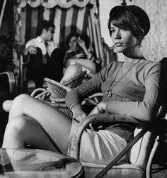 """Francoise Hardy.    Check """"La Mer"""", """"Tous les garcons et les filles"""", and """"Je Veux Qu'Il Revienne"""""""