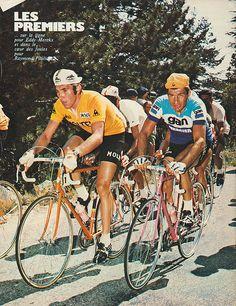 Raymond Poulidor and Eddy Merckx 485706f12
