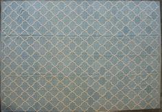"Modern Handmade Flat-weave Rug; 100% Lamb's Wool; Size 10'3"" x 14'10""; Custom Order Available"