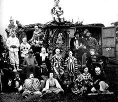Clowns, 1920s.
