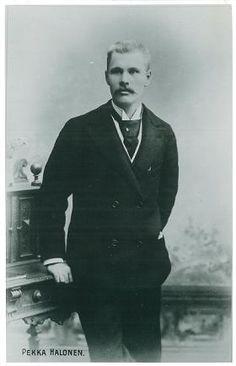 nuori Pekka Halonen