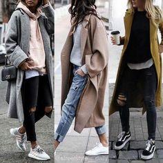 New Fashion High Street Style Chic Ideas Fashion Mode, Look Fashion, Korean Fashion, Fashion Trends, Womens Fashion, Ladies Fashion, Daily Fashion, Fashion Photo, Everyday Fashion