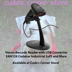 Steren #BarcodeReader with #USB Connector EAN128 Codabar Industrial 2of5 and More https://www.ebid.net/us/for-sale/7501483187071-steren-barcode-reader-with-usb-connector-ean128-codabar-industrial-2of5-and-more-153622335.htm?utm_campaign=crowdfire&utm_content=crowdfire&utm_medium=social&utm_source=pinterest 🐾