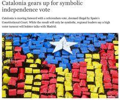 Gran impacte del 9-N a la premsa internacional - vilaweb.cat,  09.11.2014. Durant els últims anys, un dels fets destacats del procés sobiranista català ha estat la gran atenció que hi han prestat els mitjans de comunicació internacionals. Avui, dia de la consulta, la gran xifra de mitjans acreditats i d'articles dedicats per la premsa estrangera no fa sinó confirmar aquest interès mundial pel present i futur de Catalunya.