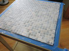 Tiled End Table Makeover - Guest Post by Design Megillah - Pretty Handy Girl