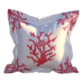Found it at Wayfair - Lowcountry Linens Coral Pillow