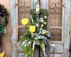 Excited to share this item from my shop: Spring Wreaths, Summer Wreaths, Everyday Wreaths Spring Front Door Wreaths, Holiday Wreaths, Spring Wreaths, Christmas Door Decorations, Christmas Swags, Thanksgiving Wreaths, Easter Wreaths, Moss Wreath, Grapevine Wreath