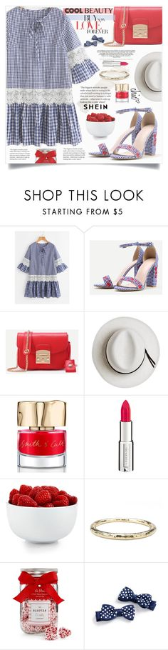 """""""Shein Girly Style"""" by lillili25 ❤ liked on Polyvore featuring Calypso Private Label, Smith & Cult, Givenchy, The Cellar, Ippolita and The Hampton Popcorn Company"""