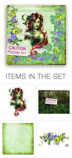 """""""Poison Ivy"""" by sjlew ❤ liked on Polyvore featuring art"""