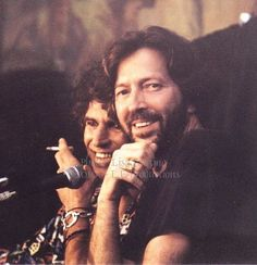 Eric Clapton and Keith Richards... early 1990's