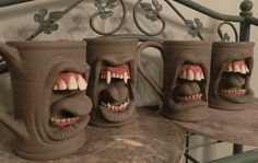 También quiero estas, para el cafecito de la mañana --> Making Mugs, Mugs, and More Mugs. by thebigduluth.deviantart.com on @deviantART