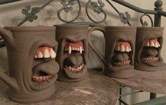También quiero estas, para el cafecito de la mañana --> Making Mugs, Mugs, and More Mugs. by thebigduluth.deviantart.com on @deviantART