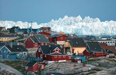 Ilulissat is one of the most popular tourist destinations in Greenland because of its proximity to the picturesque Icefjord Ilulissat (Ilulissat fjord), and tourism is now the town's main industry. Description from socialphy.com. I searched for this on bing.com/images