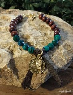 Check out this item in my Etsy shop https://www.etsy.com/listing/257408970/chrysoprase-leather-and-tabitan-prayer