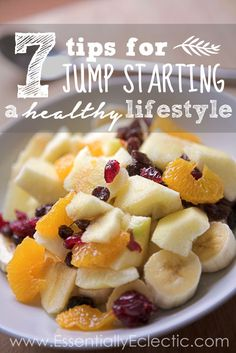 7 Tips for Jump Starting a Healthy Lifestyle. Quality Health and Beauty