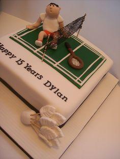 Badminton Cake Auckland Sport Cakes, Cakes For Men, Craft Club, Vegan Cake, Cake Shop, Brainstorm, Badminton, Cute Cakes, Auckland