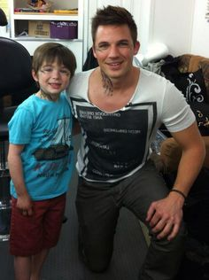 Both Romans on Star Crossed. To freaking cute. I'm always amazed because they look pretty similar