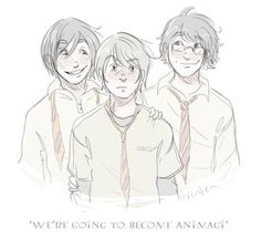 'we're going to become animagi, remus'