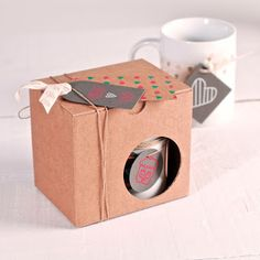 caja para tazas, mugs, tazas personalizadas, selfpackaging, self packaging, selfpacking
